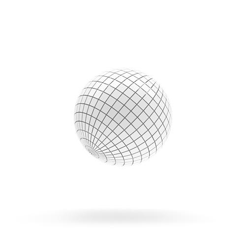 3D sphere rendering