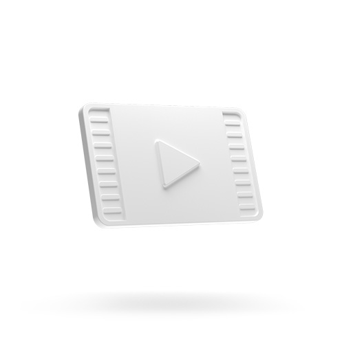 3D play icon