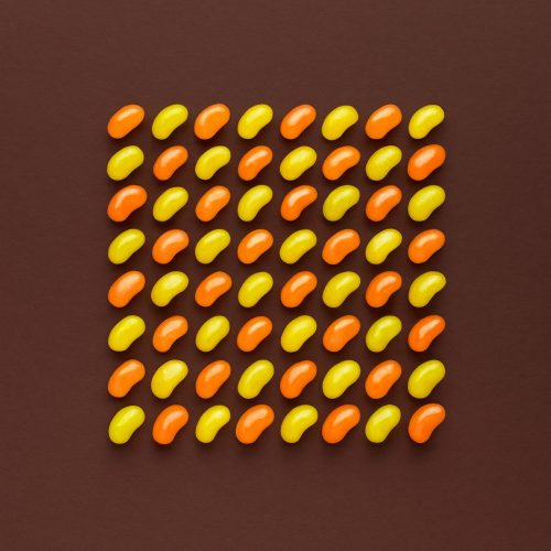 Sweet Happiness Part 2 brown and yellow creative abstract art photography